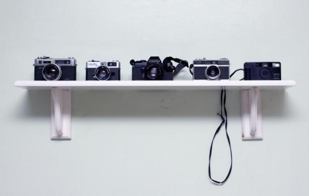 cameras on wall