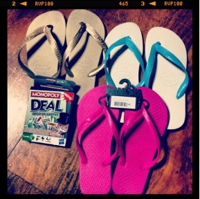 Travel Shopping: Flip Flops in Rio de Jainero