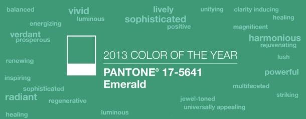 2013 Pantone